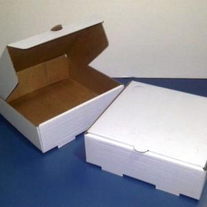 Caixa branca para esfiha preço