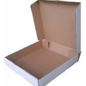 Caixa de esfiha branca