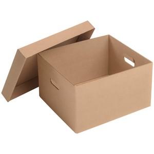 Caixa de papelão maleta
