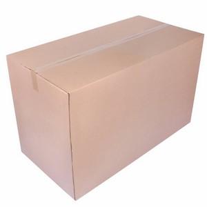 Caixa de papelão onda dupla