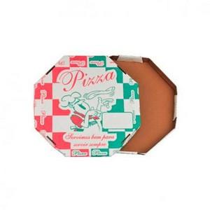 Caixa de pizza sextavada