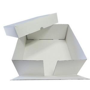 Caixa para bolo de papelão