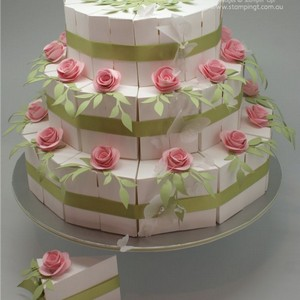 Caixa para bolo surpresa