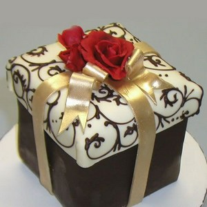 Caixa para bolo alta