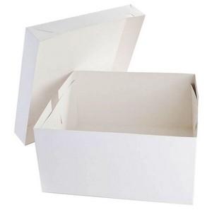 Caixa para bolo transparente